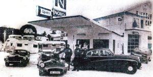 """Fra oldtiden på """"Hjulet"""" bensinstasjon der klubbens frø ble sådd i 1978."""