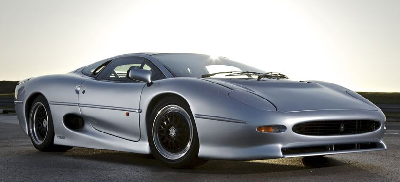 Jaguar XJ220, ikke for hvermannsen.