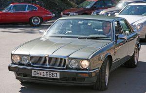 Jaguar XJ40 Insignia, en sjeldenhet oberservert på Vårmønstringen.