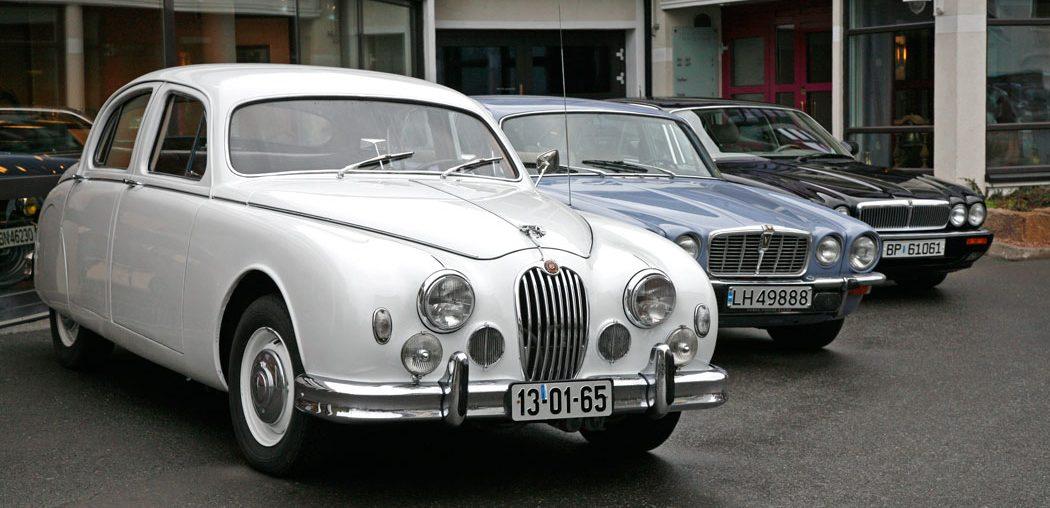 Jaguar Mark 1 på Vårmønstringen 2008.