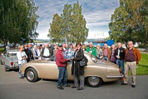 Medlemsaktiviteter gir deg mange fine opplevelser. Her er klubben på tur til Hadeland Glassverk.