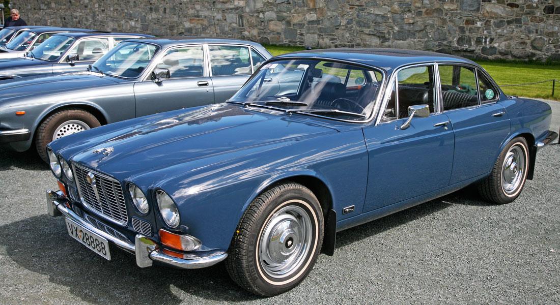 Jaguar XJ6 Serie 1, utropt til verdens vakreste Saloon ved lanseringen i 1969.