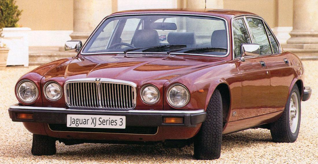 Jaguar Serie 3 Sovereign. Mange mener de siste par årgangene av denne modellen er noe av det beste Jaguar har produsert.