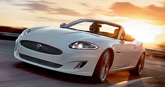 Den nye Jaguar XK – et signal om eksklusiv livsstil.
