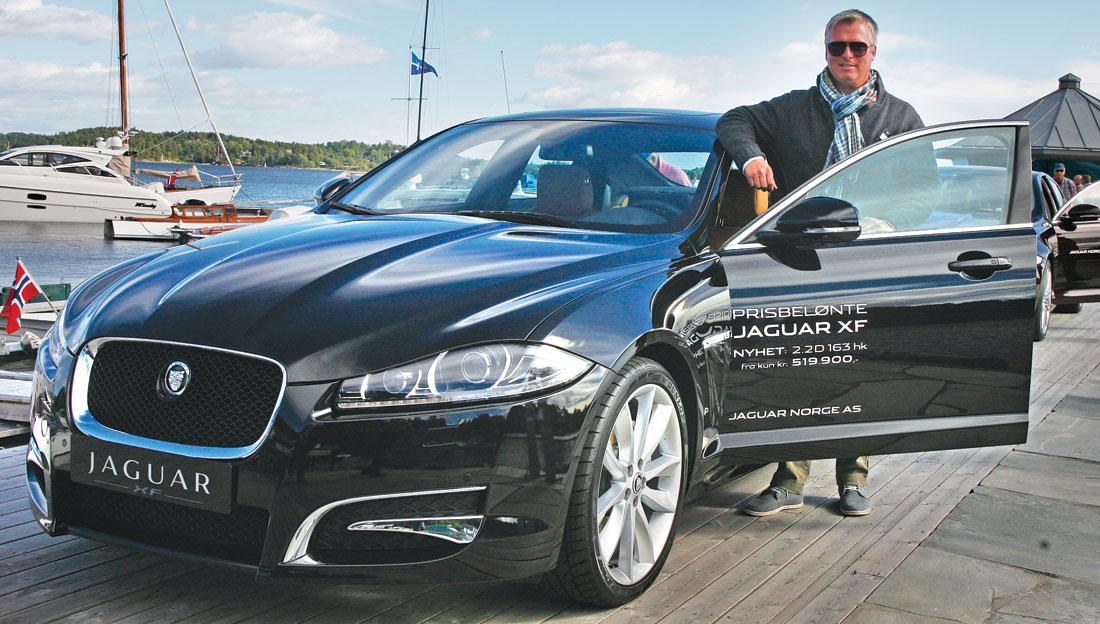 """XF er den nye """"Jaguar for folk flest"""", med mange motoralternativer og med priser som ikke er avskrekkende."""